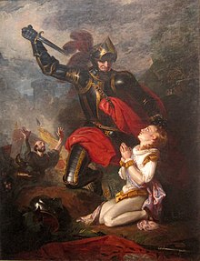 'The Murder of Rutland by Lord Clifford' by Charles Robert Leslie, 1815.JPG