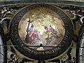 (5) Bucuresti, Romania. Biserica Alba. Plafon. (Dumnezeu, Fiul si Sfantl Duh).jpg