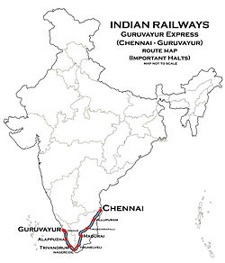 (Guruvayur- Chennai) Express Route map.jpg