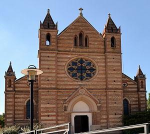 Genas - The church of Saint-Barthélémy in Genas