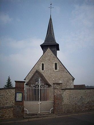Arnières-sur-Iton - Image: Église Saint Martin Arnières sur Iton