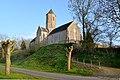 Église Saint-Vincent de Beuzeville-la-Bastille. Vue nord-ouest.jpg
