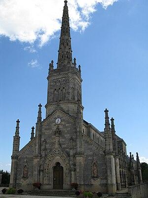 Saint-Julien-Beychevelle - Image: Église de Saint Julien Beychevelle