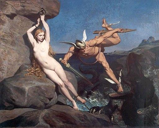 Émile Bin - Persée délivrant Andromède 1865
