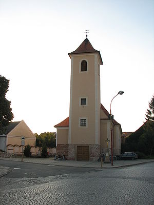 Saint Michael's church, Šardice, Hodonín District