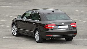 Škoda Superb - 2013 facelift