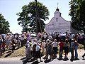Žemaičių Kalvarijos bažnyčia mišios, 2006.jpg