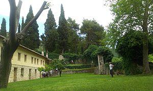 Žitomislić - Monastery courtyard