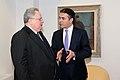 Επίσκεψη, Υπουργού Εξωτερικών, Ν. Κοτζιά στην πΓΔΜ- Συνάντηση ΥΠΕΞ, Ν. Κοτζιά, με ομόλογό του της πΓΔΜ, N. Dimitrov (23.03.2018) (27095696728).jpg