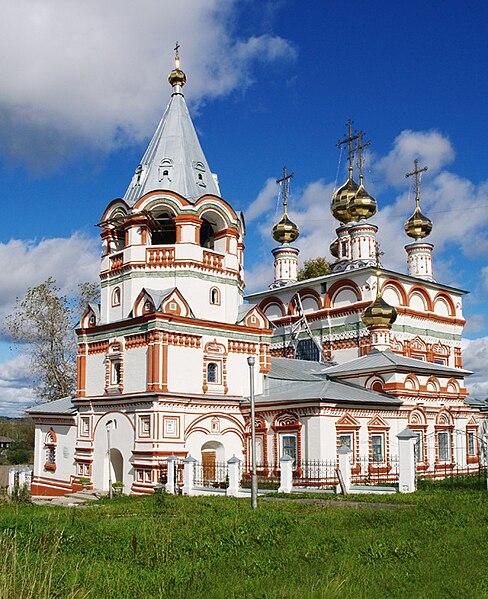 Богоявленская церковь в г. Соликамск