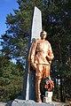 Братська могила 7 радянських воїнів і пам'ятник 113 односельчанам, с. Думанці, пам'ятник.jpg