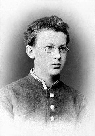 Vladimir Vernadsky - Vladimir Vernadsky, gymnasium student 1st Classical Gymnasium of St. Petersburg, 1878