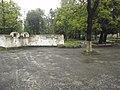 Вхід у парк зі сторони перехр. вулиць Бадери і Воїнів УПА.jpg