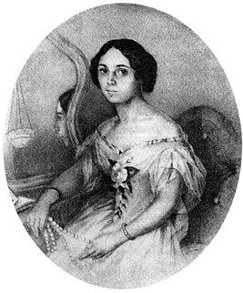 Денисьева Елена Александровна. Акварель Иванова. Петербург. 1851.jpg