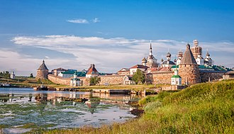 Solovki prison camp - Solovetsky Monastery in 2013