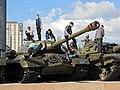 """Мемориал """"Сталинградская битва"""". Бронетехника - panoramio.jpg"""