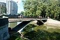 Менск - мост цераз Сьвіслач ля перакрыжаваньня Купалы і Маркса.JPG
