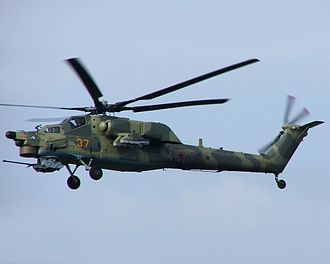Mil Mi-28 - A Russian Air Force Mi-28