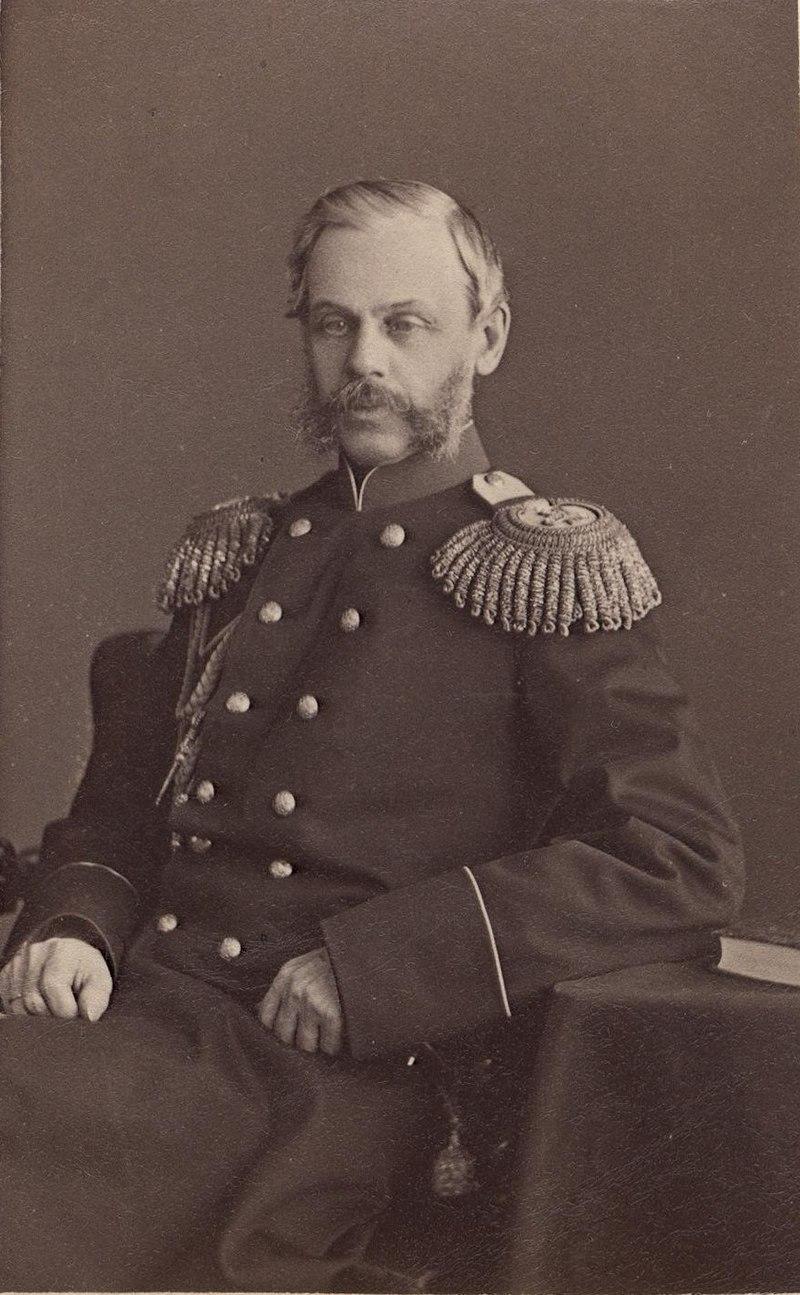 Милютин Дмитрий Алексеевич, генерал. нач-сер.1870-е гг. (с)С.Л.Левицкий,Спб ГИМ e1t3a.jpg