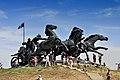 Монумент «Легендарна тачанка» (Каховка) 08.jpg