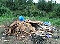 Невская Дубровка 17 августа 2011 У гаражей горит свалка - panoramio (2).jpg
