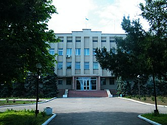 Ochakiv - Ochakiviska district council and district administration