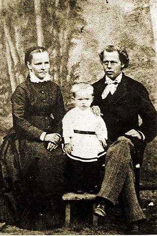 Павел, Августа Стефановна и Пётр Васильевич Бажевы