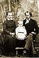 Павел Бажов и родители.jpg