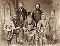 Павлов И.П., отец Петр Дмитриевич,мать Варвара, бр.Сергей, Дмитрий, Петр. 1870-егг(pavlovs museum).jpg