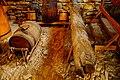 Портмойня с остатками деревянного водопровода из древесины лиственницы. Елабуга, Татарстан.jpg