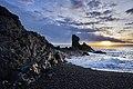 Рассвет на полуострове Снайфедльснес.jpg