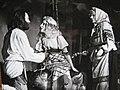 Спектакль «Сказ о солда́те и Бессме́ртном Коще́е» Б.Маслов в роли Лешего, М.Петрова в роли Русалки, В.Балабина в роли Бабы Яги.jpg