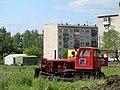 Трактор расчищает место для стоянки - panoramio.jpg