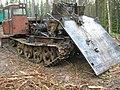 Трелевочный трактор для вывоза хлыстов. Скоро здесь будет пустыня вместо леса - panoramio.jpg