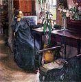 У окна. Портрет В. В. Ушаковой. 1907.jpg