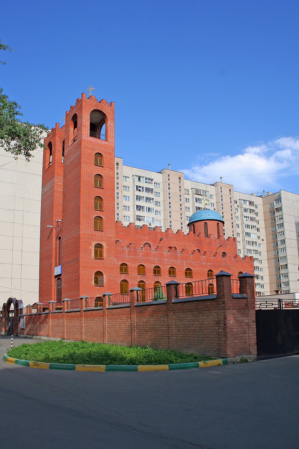 Церковь Мат Марьям на Дубровке