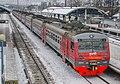 ЭД4М-0437, Russia, Moscow region, Monino station (Trainpix 214211).jpg