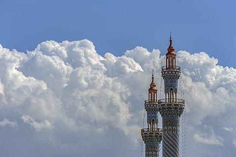 Iranian Islamic architecture used in Imam Hasan al-Askari Mosque Minarets