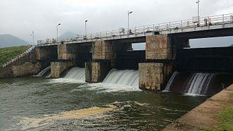 Manjalar River - மஞ்சளாறு அணை