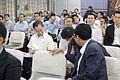 คุณชวน หลีกภัย และ นายกรัฐมนตรี กับรอยยิ้ม นายกรัฐมนต - Flickr - Abhisit Vejjajiva.jpg
