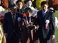 第76回菊花賞の表彰式で贈呈された金杯.JPG