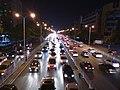 长沙市东二环荷花路口天桥下南往北车道.jpg