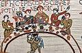 .Tapisserie de Bayeux 1066 1082 Banquet de Guillaume le conquérant.jpg