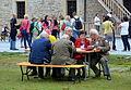 02014 Erbsensuppe nach Feste 2014 Soldaten und Zivilisten als kulinarisches Symbol auf der Burg zu Sanok.JPG