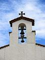037 Santa Maria del Port (Llançà), campanar d'espadanya.JPG