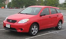 Standard 2003 2008 Edit 2005 Toyota Matrix