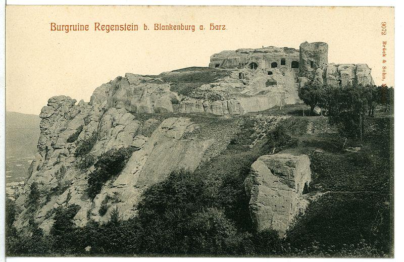 File:09072-Regenstein-1907-Burgruine-Brück & Sohn Kunstverlag.jpg