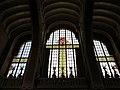 090 Hospital de Sant Pau, edifici d'Administració, sala d'actes, finestrals amb vitralls.JPG