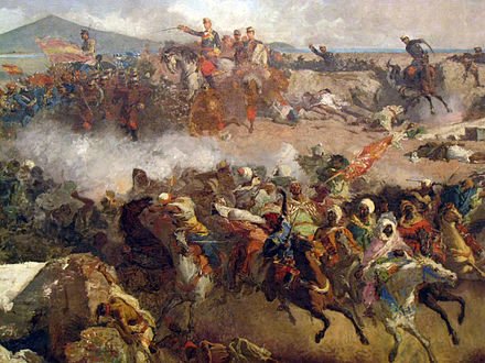 The Battle of Tetouan, 1860, by Maria Fortuny 093 La batalla de Tetuan, de Maria Fortuny (detall).jpg