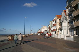 The promenade at Bray-Dunes